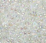 11-250 Miyuki Transparant Crystal AB 11/0
