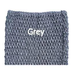 Gehaakte Top Grey M  (maat 86 t/m 116)