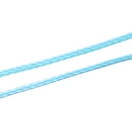 Koreaans Polyester Waxkoord Baby Blauw 0,5mm