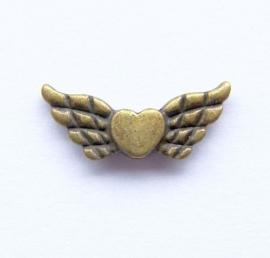 Engelen Vleugels Hart bronskleur