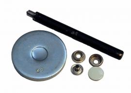 Gereedschaps setje voor drukknopen 15mm