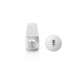 Design stempel Simple Pine Tree 4mm ImpressArt