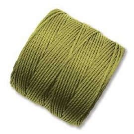 S-LON BEAD CORD CHARTREUSE