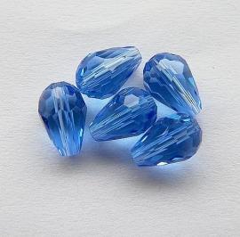 Druppel Blauw 15x10mm
