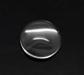 Glas cabochon Rond 8 mm