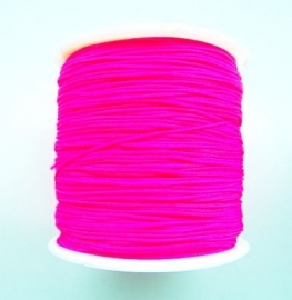 Chinese Knotting Cord  Fluor Roze