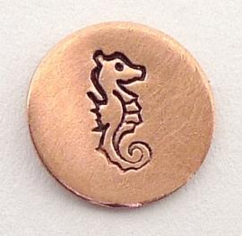 Design stempel Seahorse 6mm UB