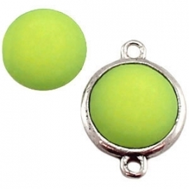 Cabochon Polaris matt 20 mm Peridot green