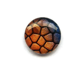Dragon Skin 005, 25mm Glas Cabochon Rond