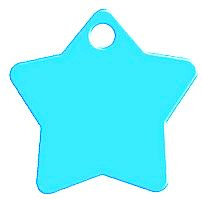 Star Aqua Blue aluminium