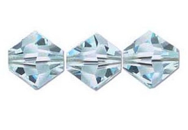 Swarovski kralen Bicone 4mm Light Azore (10st.)