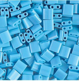TL-413 Miyuki TILA OpaqueTurquoise Blue  5x5mm