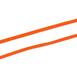Koreaans Polyester Waxkoord Oranje 0,5mm