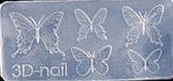 Mini Mal VlindersTransparant