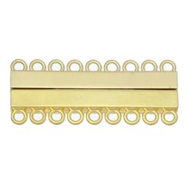 Magnetisch slot 9 rijen Gold Plated