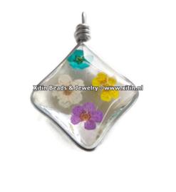 Doosje met Gedroogde Bloemetjes voor Resin 002