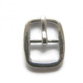 Gesp voor 10mm leer zilverkleur