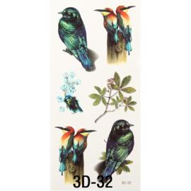 Tattoo's  3D-32