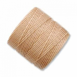 S-LON BEAD CORD (GINGER) LT COPPER