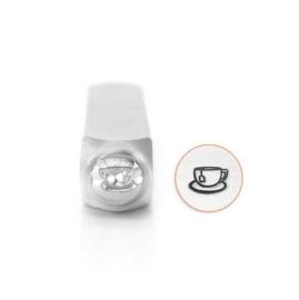 Design stempel Tea Cup 6mm ImpressArt