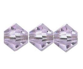 Swarovski kralen Bicone 4mm Alexandrite (10st.)