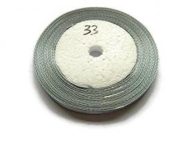 No.33 Grijs Satijnlint 6mm (per rol)