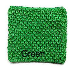 Gehaakte Top Green S  (maat 50 t/m 80)