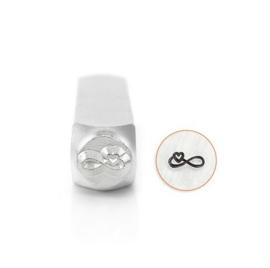 Design stempel Infinity Heart  6mm ImpressArt
