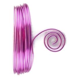AluDeco Wire 2mm Lavendel Round (5m)