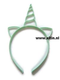 Haarbeugel Eenhoorn Mint Groen