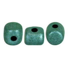 Minos Metallic Mat Green Turquoise