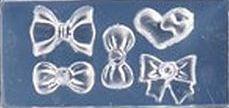Mini Mal 4 Strikjes & 1 Hartje Transparant