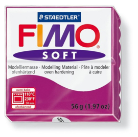Fimo Klei Soft Purperviolet No.61