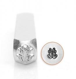 Design stempel Butterfly Spread 6mm ImpressArt