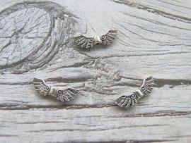 Engelen vleugels 002 zilverkleur