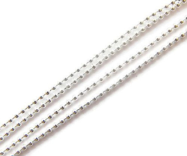 Mini Ballchain ketting 1,5mm