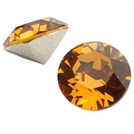 Swarovski Elements SS29 puntsteen (6.2mm) Topaz