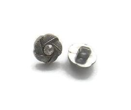 Knoop Acryl met oog 003 Rhinestone