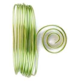 AluDeco Wire 1mm Mint Green Round (10m)