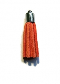 Kwastje Oranje (zilverkleur kapje)