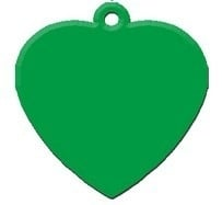 Heart Green aluminium