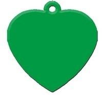 Heart Green aluminium