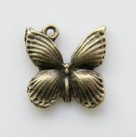 Bedel vlinder brons