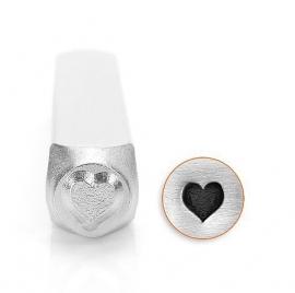 Design stempel Solid Heart 6mm ImpressArt