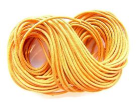 Waxkoord Oranje 1,2mm