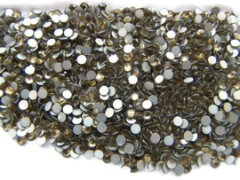 Rhinestone Flatback  SS12 Light Topaz 3mm
