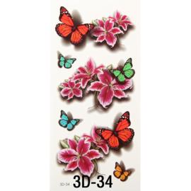 Tattoo's  3D-34