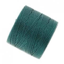 S-LON BEAD CORD GREEN BLUE