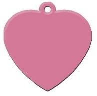 Heart Pink aluminium