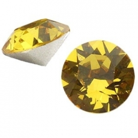Swarovski Elements SS39 puntsteen (8mm) Sun Flower Yellow